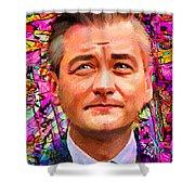 Robert Biedron Portrait 322a Shower Curtain