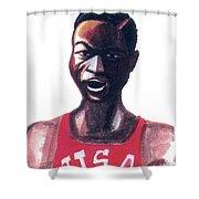 Robert Bob Beamon Shower Curtain