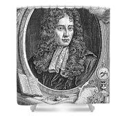 Robert Boyle, Irish Polymath Shower Curtain