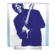 Robert Cray Shower Curtain
