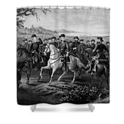 Robert E. Lee And His Generals Shower Curtain