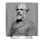 Robert E Lee - Confederate General Shower Curtain
