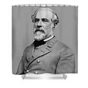 Robert E Lee - Confederate General Shower Curtain