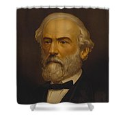 Robert E. Lee Painting Shower Curtain