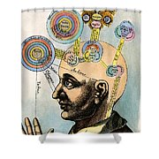 Robert Fludd, 1574-1637 Shower Curtain