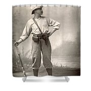 Robert Henry Nelson Shower Curtain