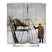 Robert Hutchings Goddard, 1862-1945 Shower Curtain