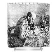 Robert Koch, German Bacteriologist Shower Curtain