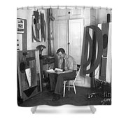 Robert Motherwell Shower Curtain