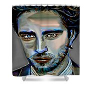 Robert Pattinson Shower Curtain