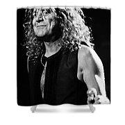 Robert Plant-0039 Shower Curtain