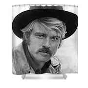 Robert Redford (1936-) Shower Curtain by Granger