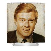 Robert Redford, Actor Shower Curtain