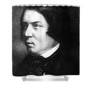 Robert Schumann, German Composer Shower Curtain