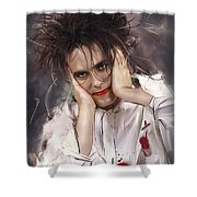 Robert Smith - The Cure Shower Curtain
