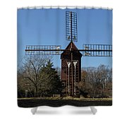 Robertsons Windmill Shower Curtain