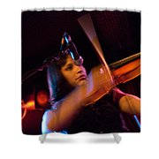 Robin Hoch The Wendy Woo Band Shower Curtain