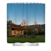 Robinson Cabin At Wilderness Road State Park Shower Curtain