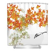 Robinson Camo Leaves Range Shower Curtain