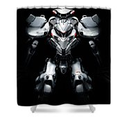 Robot Shower Curtain