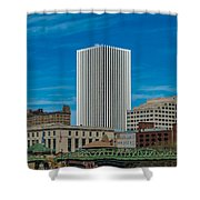 Rochester Across The River Shower Curtain