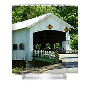 Rochester Bridge Shower Curtain