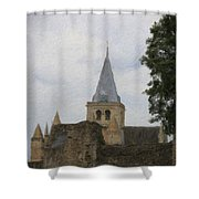 Rochester Cathedral Art Shower Curtain