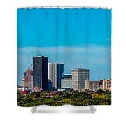 Rochester Ny Skyline Shower Curtain