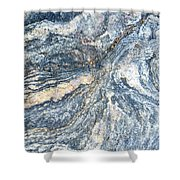 Rock Abstract Shower Curtain
