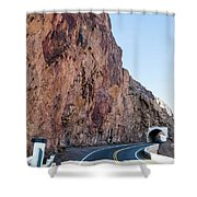 Rock And Road Shower Curtain