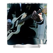 Rock And Roll 2 Shower Curtain