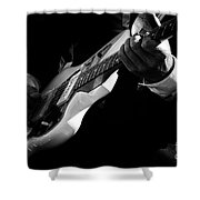 Rock And Roll 3 Shower Curtain