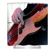 Rock And Roll 4 Shower Curtain