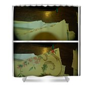 Rock And Roll Music  Shower Curtain