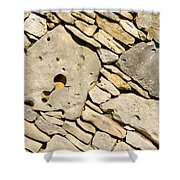 Rock Architecture Five Shower Curtain