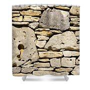 Rock Architecture Four Shower Curtain