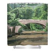 Rock Creek Bridge 5 Shower Curtain
