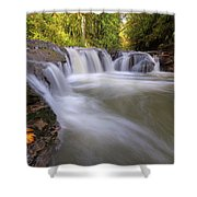 Rock Creek In Happy Valley Oregon Shower Curtain
