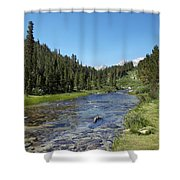 Rock Creek Shower Curtain by Kenneth Hadlock