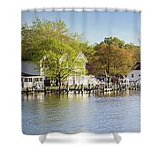 Rock Creek - Pano Shower Curtain