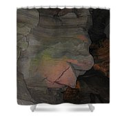 Rock Face Shower Curtain