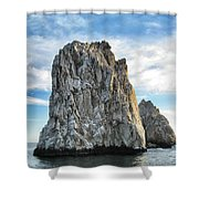 Rock Formation Shower Curtain