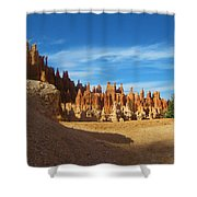 Rock Formations Shower Curtain