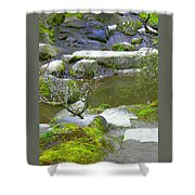 Rock Garden Shower Curtain