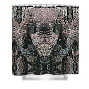 Rock Gods Elephant Stonemen Of Ogunquit Shower Curtain
