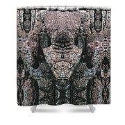 Rock Gods Elephant Stonemen Of Ogunquit Shower Curtain