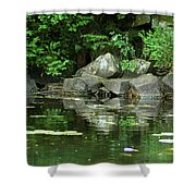 Rock Group Shower Curtain
