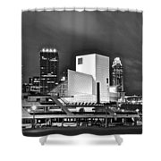 Rock Hall Front And Center  Shower Curtain