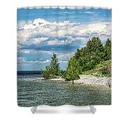 Rock Island Summer Shower Curtain