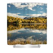 Rock Lake Shower Curtain